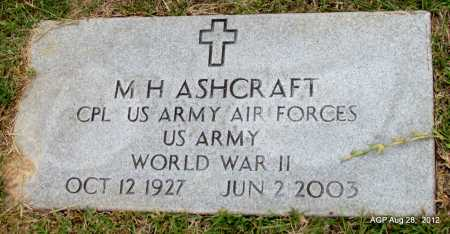 ASHCRAFT (VETERAN WWII), M H - Jefferson County, Arkansas | M H ASHCRAFT (VETERAN WWII) - Arkansas Gravestone Photos