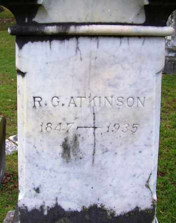 ATKINSON, ROBERT C - Jefferson County, Arkansas | ROBERT C ATKINSON - Arkansas Gravestone Photos