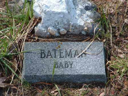 BATEMAN, BABY - Jefferson County, Arkansas | BABY BATEMAN - Arkansas Gravestone Photos
