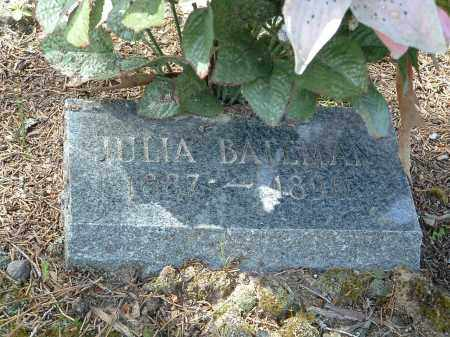 BATEMAN, JULIA - Jefferson County, Arkansas | JULIA BATEMAN - Arkansas Gravestone Photos