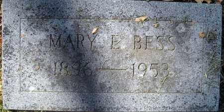 BESS, MARY E. - Jefferson County, Arkansas | MARY E. BESS - Arkansas Gravestone Photos
