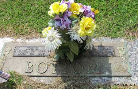 BOTTOM, JENNIE MAE - Jefferson County, Arkansas | JENNIE MAE BOTTOM - Arkansas Gravestone Photos