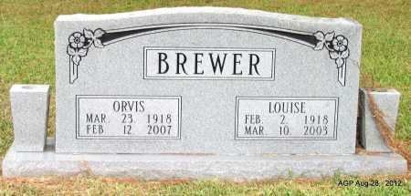 BREWER, ORVIS - Jefferson County, Arkansas | ORVIS BREWER - Arkansas Gravestone Photos