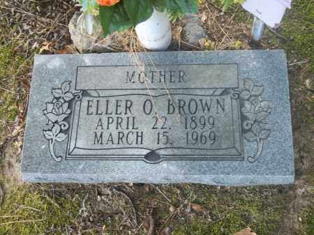 BROWN, ELLER O - Jefferson County, Arkansas | ELLER O BROWN - Arkansas Gravestone Photos