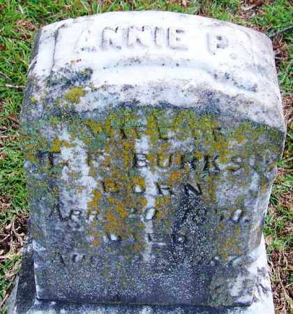 BURKS, ANNIE P - Jefferson County, Arkansas | ANNIE P BURKS - Arkansas Gravestone Photos