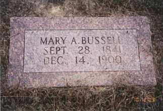 BUSSELL, MARY - Jefferson County, Arkansas | MARY BUSSELL - Arkansas Gravestone Photos