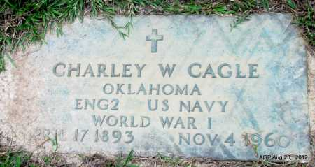 CAGLE (VETERAN WWI), CHARLEY W - Jefferson County, Arkansas | CHARLEY W CAGLE (VETERAN WWI) - Arkansas Gravestone Photos