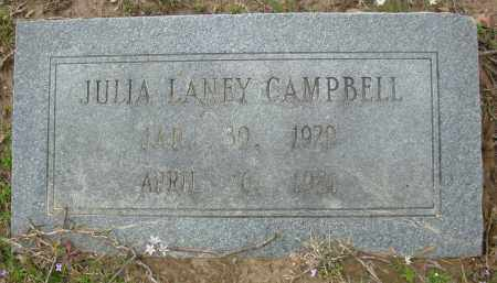 CAMPBELL, JULIA - Jefferson County, Arkansas | JULIA CAMPBELL - Arkansas Gravestone Photos