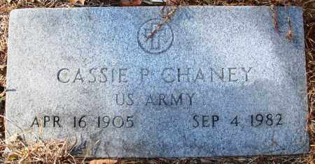 CHANEY (VETERAN), CASSIE P - Jefferson County, Arkansas | CASSIE P CHANEY (VETERAN) - Arkansas Gravestone Photos