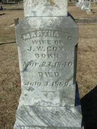 DARBY COX, MARTHA T. - Jefferson County, Arkansas | MARTHA T. DARBY COX - Arkansas Gravestone Photos