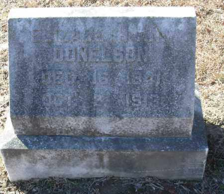 DONELSON, ELIZABETH ANN - Jefferson County, Arkansas | ELIZABETH ANN DONELSON - Arkansas Gravestone Photos