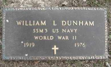 DUNHAM (VETERAN WWII), WILLIAM LOUIS - Jefferson County, Arkansas | WILLIAM LOUIS DUNHAM (VETERAN WWII) - Arkansas Gravestone Photos
