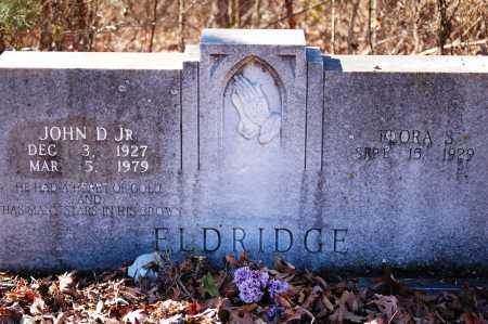 ELDRIDGE, JR., JOHN D. - Jefferson County, Arkansas | JOHN D. ELDRIDGE, JR. - Arkansas Gravestone Photos