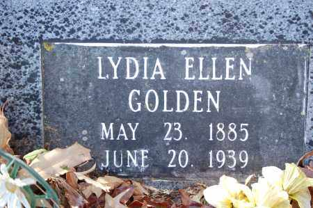 GOLDEN, LYDIA ELLEN - Jefferson County, Arkansas | LYDIA ELLEN GOLDEN - Arkansas Gravestone Photos