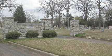*GRACELAND CEMETERY ENTRANCE,  - Jefferson County, Arkansas |  *GRACELAND CEMETERY ENTRANCE - Arkansas Gravestone Photos
