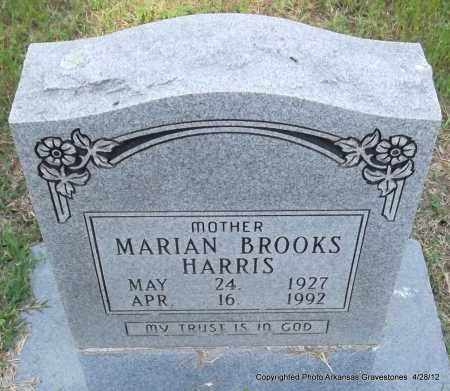 BROOKS HARRIS, MARIAN - Jefferson County, Arkansas | MARIAN BROOKS HARRIS - Arkansas Gravestone Photos