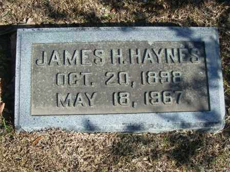 HAYNES, JAMES H. - Jefferson County, Arkansas | JAMES H. HAYNES - Arkansas Gravestone Photos