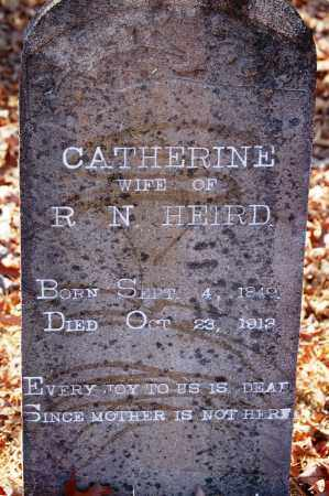 HEIRD, CATHERINE - Jefferson County, Arkansas | CATHERINE HEIRD - Arkansas Gravestone Photos