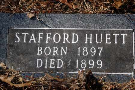 HUETT, STAFFORD - Jefferson County, Arkansas | STAFFORD HUETT - Arkansas Gravestone Photos