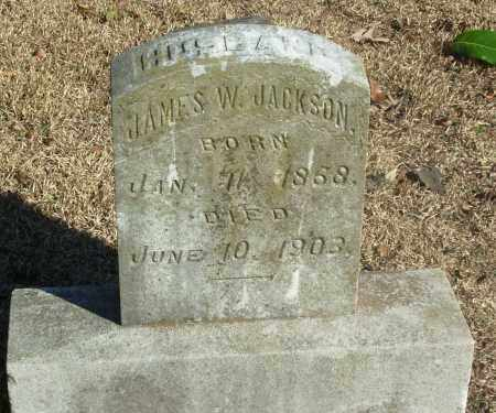 JACKSON, JAMES W - Jefferson County, Arkansas | JAMES W JACKSON - Arkansas Gravestone Photos