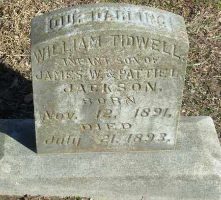 JACKSON, WILLIAM TIDWELL - Jefferson County, Arkansas | WILLIAM TIDWELL JACKSON - Arkansas Gravestone Photos