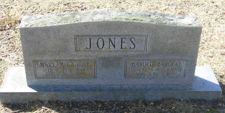 MCGAUGHY JONES, MARY - Jefferson County, Arkansas | MARY MCGAUGHY JONES - Arkansas Gravestone Photos