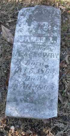 LOWRY, JAMES L. - Jefferson County, Arkansas | JAMES L. LOWRY - Arkansas Gravestone Photos