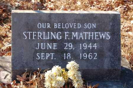 MATHEWS, STERLING - Jefferson County, Arkansas | STERLING MATHEWS - Arkansas Gravestone Photos