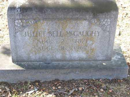 MCGAUGHY, JULIET - Jefferson County, Arkansas | JULIET MCGAUGHY - Arkansas Gravestone Photos