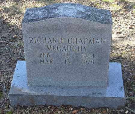 MCGAUGHY, RICHARD CHAPMAN - Jefferson County, Arkansas | RICHARD CHAPMAN MCGAUGHY - Arkansas Gravestone Photos