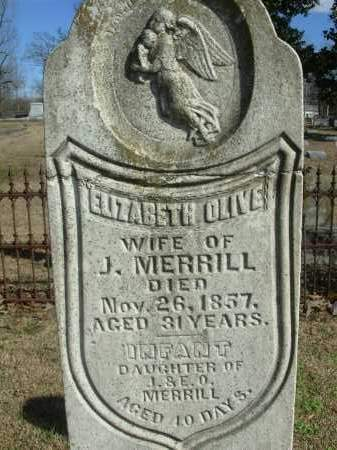 MERRILL, ELIZABETH OLIVE - Jefferson County, Arkansas | ELIZABETH OLIVE MERRILL - Arkansas Gravestone Photos