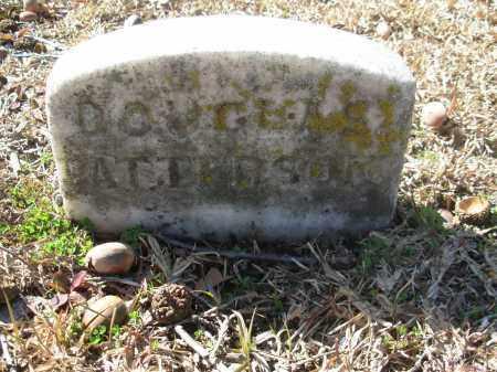 PATTERSON, DOUGLAS - Jefferson County, Arkansas | DOUGLAS PATTERSON - Arkansas Gravestone Photos