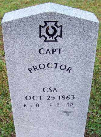 PROCTOR (VETERAN CSA), UNKNOWN - Jefferson County, Arkansas | UNKNOWN PROCTOR (VETERAN CSA) - Arkansas Gravestone Photos