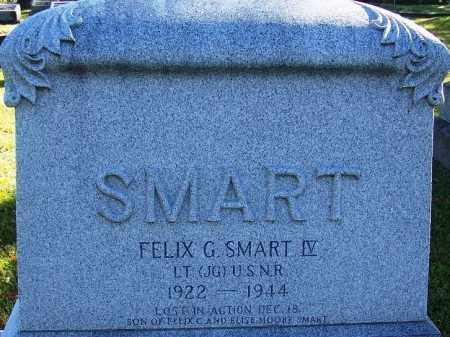 SMART IV (VETERAN WWII, KIA), FELIX G - Jefferson County, Arkansas | FELIX G SMART IV (VETERAN WWII, KIA) - Arkansas Gravestone Photos