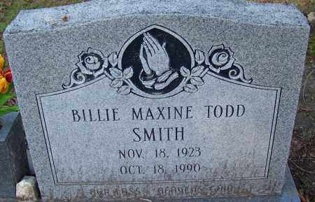 SMITH, BILLIE MAXINE - Jefferson County, Arkansas | BILLIE MAXINE SMITH - Arkansas Gravestone Photos
