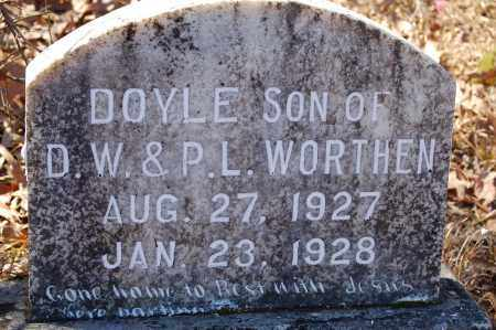 WORTHEN, DOYLE - Jefferson County, Arkansas | DOYLE WORTHEN - Arkansas Gravestone Photos