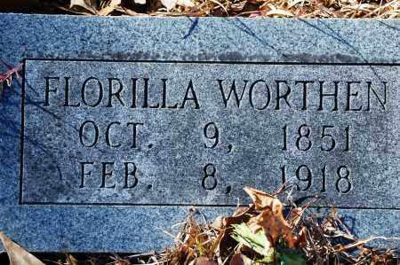 WORTHEN, FLORILLA - Jefferson County, Arkansas | FLORILLA WORTHEN - Arkansas Gravestone Photos