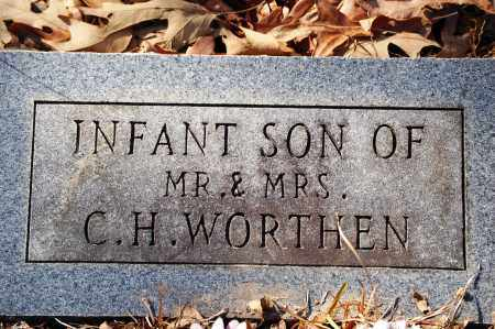 WORTHEN, INFANT SON - Jefferson County, Arkansas | INFANT SON WORTHEN - Arkansas Gravestone Photos
