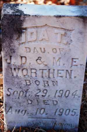 WORTHEN, IDA T. - Jefferson County, Arkansas | IDA T. WORTHEN - Arkansas Gravestone Photos