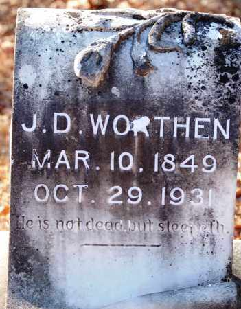 WORTHEN, J. D. - Jefferson County, Arkansas | J. D. WORTHEN - Arkansas Gravestone Photos