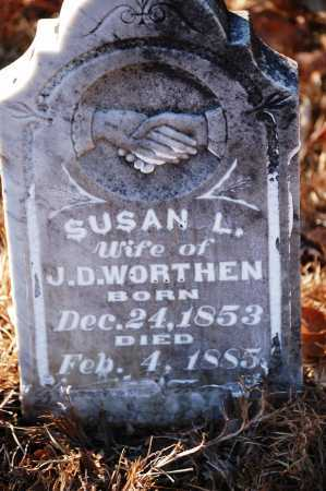 WORTHEN, SUSAN L. - Jefferson County, Arkansas   SUSAN L. WORTHEN - Arkansas Gravestone Photos