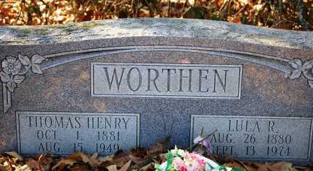 WORTHEN, THOMAS HENRY - Jefferson County, Arkansas | THOMAS HENRY WORTHEN - Arkansas Gravestone Photos