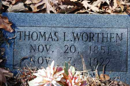 WORTHEN, THOMAS L. - Jefferson County, Arkansas | THOMAS L. WORTHEN - Arkansas Gravestone Photos