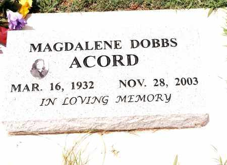 ACORD, MAGDALENE - Johnson County, Arkansas | MAGDALENE ACORD - Arkansas Gravestone Photos