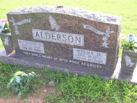 ALDERSON, VELMA M - Johnson County, Arkansas | VELMA M ALDERSON - Arkansas Gravestone Photos