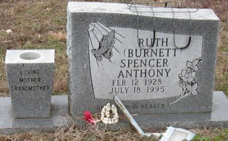 BURNETT ANTHONY, RUTH - Johnson County, Arkansas | RUTH BURNETT ANTHONY - Arkansas Gravestone Photos