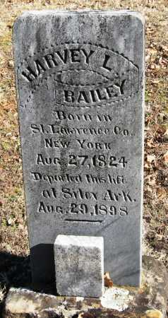 BAILEY, HARVEY L - Johnson County, Arkansas | HARVEY L BAILEY - Arkansas Gravestone Photos