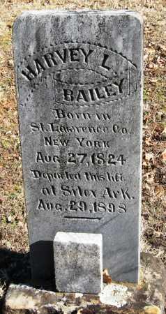 BAILEY, HARVEY L - Johnson County, Arkansas | HARVEY L BAILEY - Arkansas Gravestone Photos