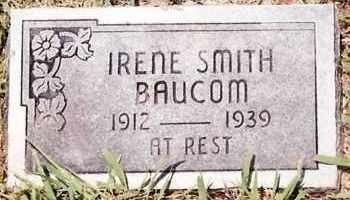 SMITH BAUCOM, IRENE - Johnson County, Arkansas | IRENE SMITH BAUCOM - Arkansas Gravestone Photos