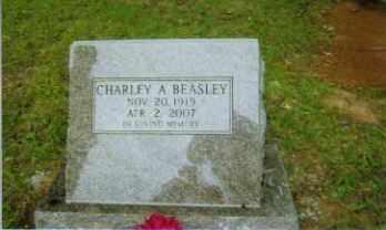 BEASLEY, CHARLEY - Johnson County, Arkansas | CHARLEY BEASLEY - Arkansas Gravestone Photos